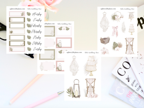 Boho Wedding - Anniversary Mini Kit