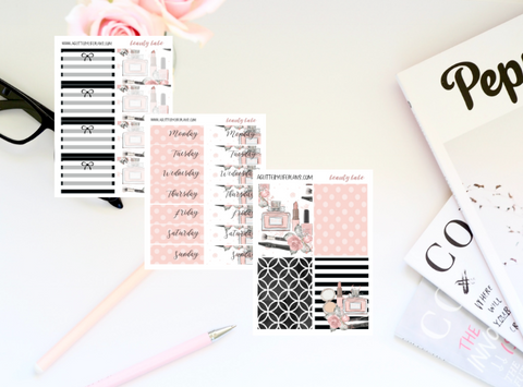 Beauty Babe Weekly Sticker Kit