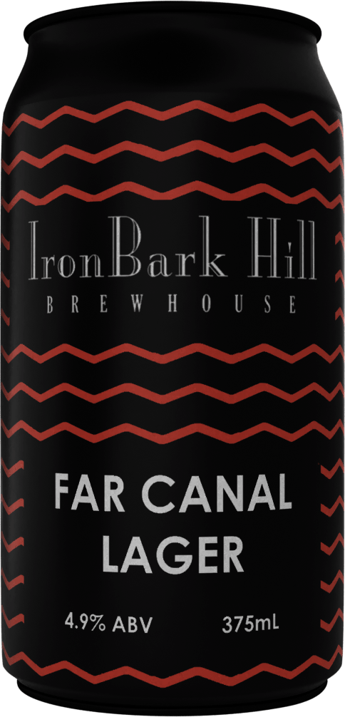 Far Canal Lager - IronBark Hill Brewhouse