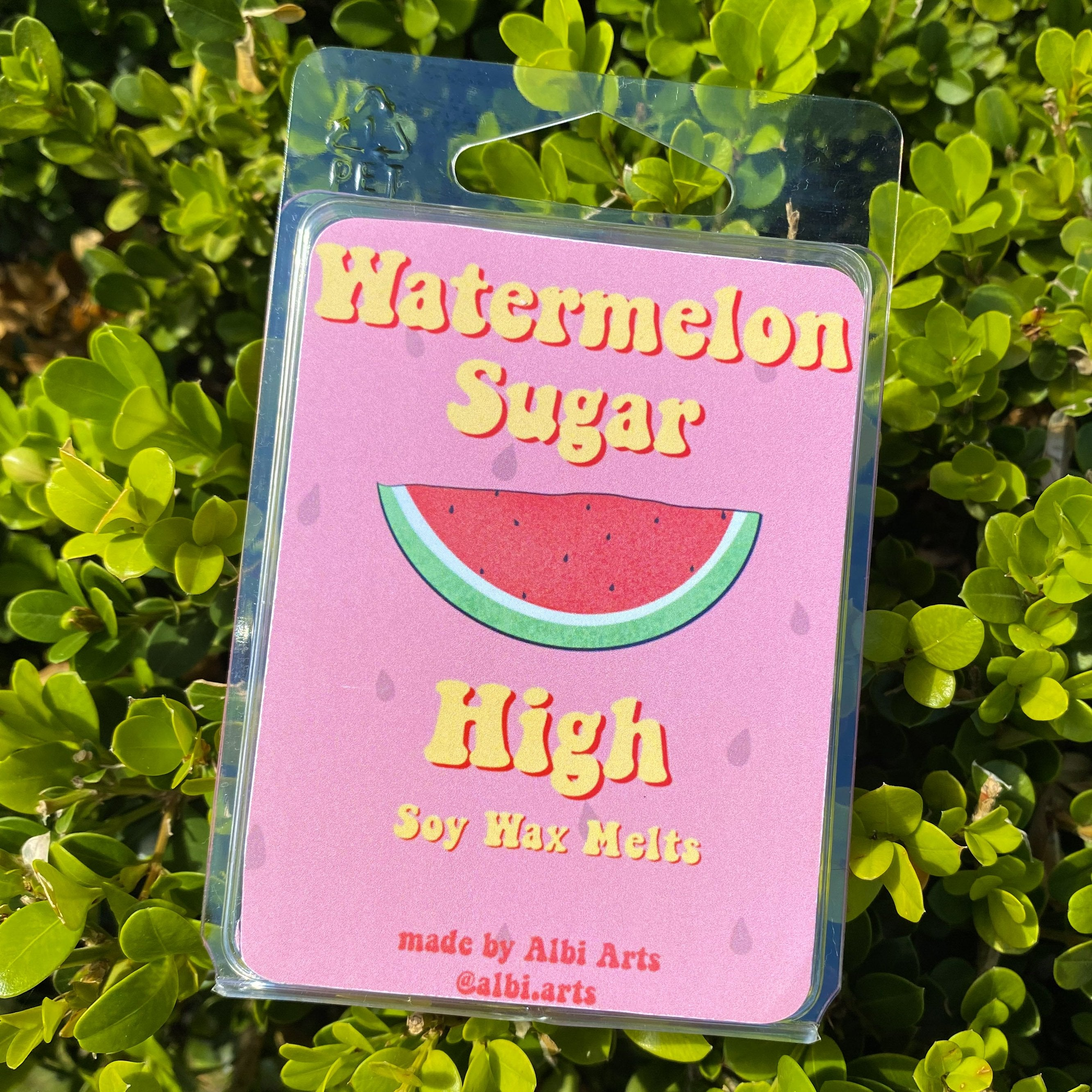 Watermelon Sugar High Soy Wax Melts - Albi Arts