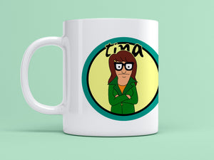 Tina as Daria Mug