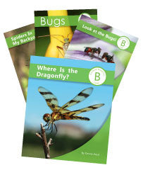 Set of Four Bug Books (4SCB11ST)