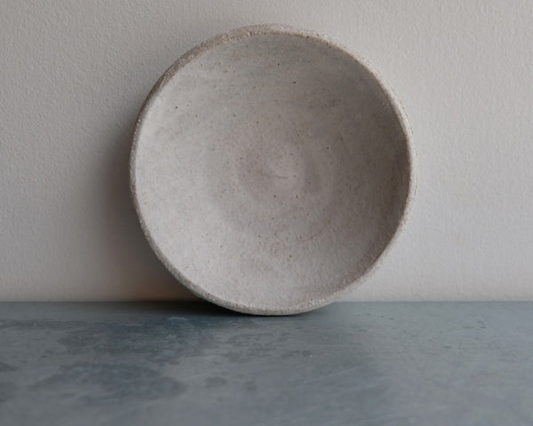 Matte White Tiny Dish