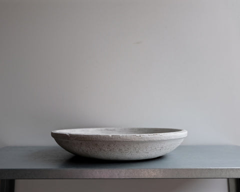 Low Statement Bowl Matte White