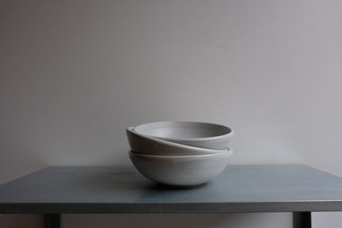 Stone Footed Bowl