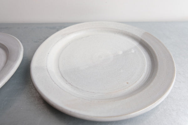 Set of Two Half and Half Dipped Plates