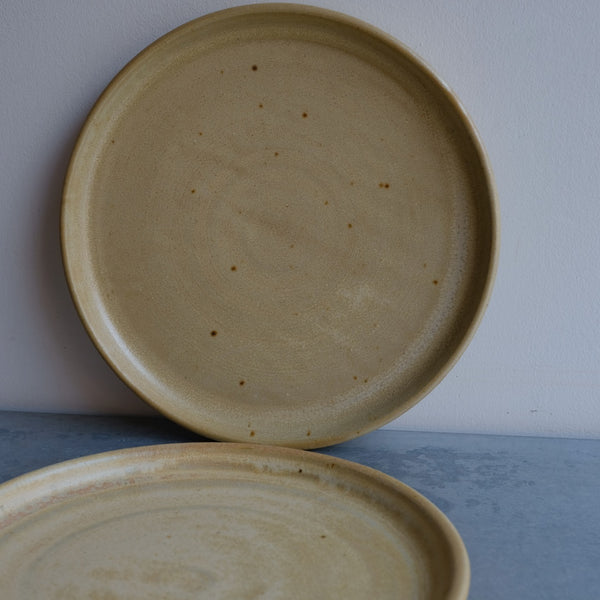 Set of Yellow Plates