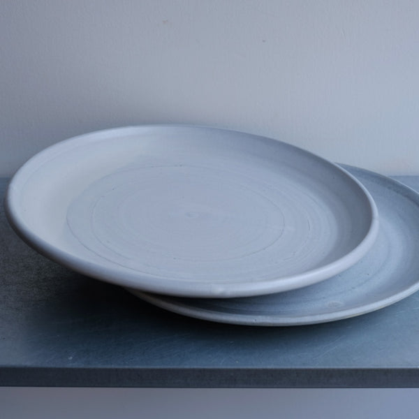 Set of Two Stone Dinner Plates