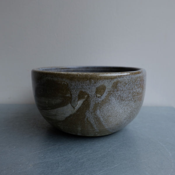 Dark Pebble Soup Bowl Two
