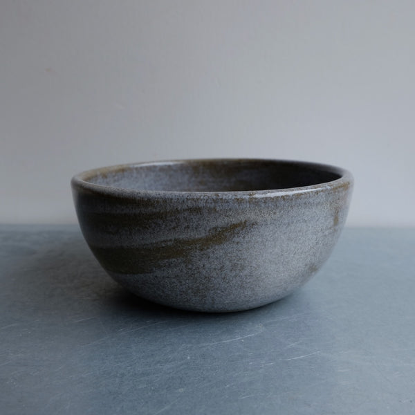 Dark Pebble Soup Bowl One