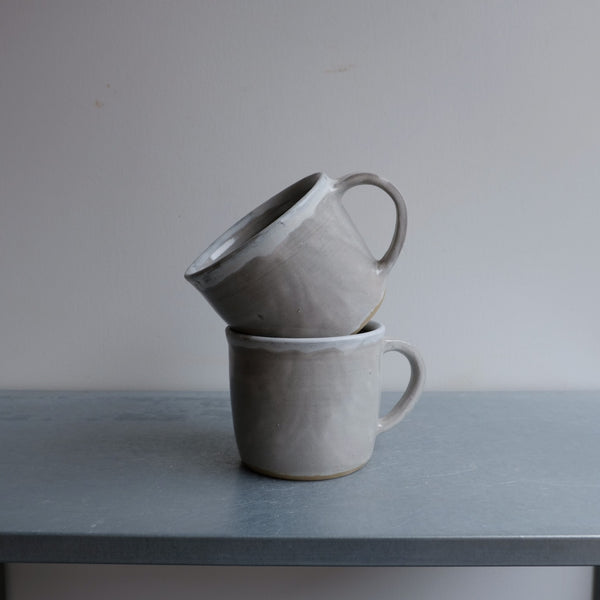 Gray White Mug (Seconds)