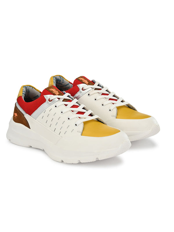 Hitz Multicolor Lace-up Luxure Shoes