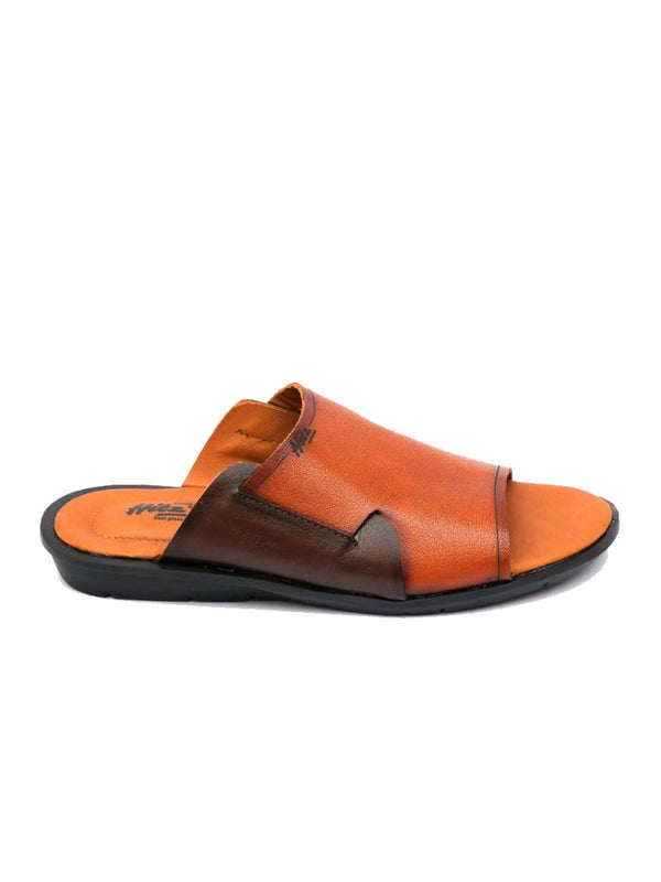Costa - 1004 Tan Leather Slippers