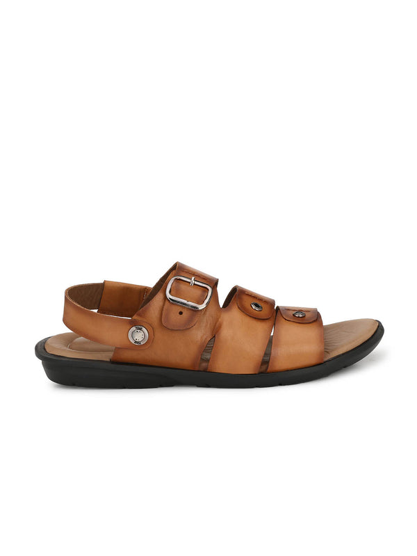 Costa - 1006 Tan Leather Sandals