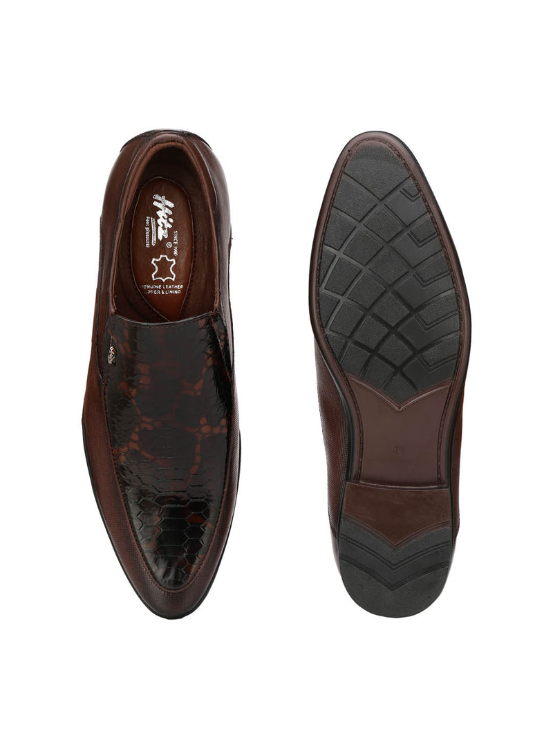 Gun - 1204 Brown Leather Shoes