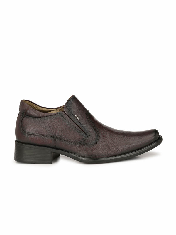 Men Totone Slip-On Formal Leather Shoes