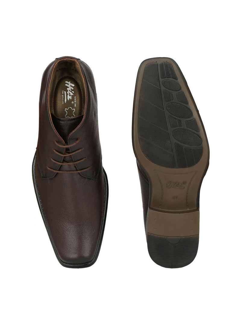 Men Totone Derby Leather Shoes