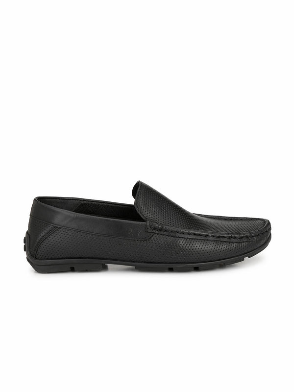 Antony - 1503 Black Leather Loafers