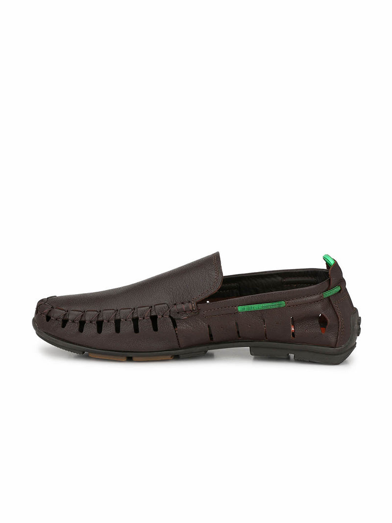 Antony - 1504 Brown Leather Loafers