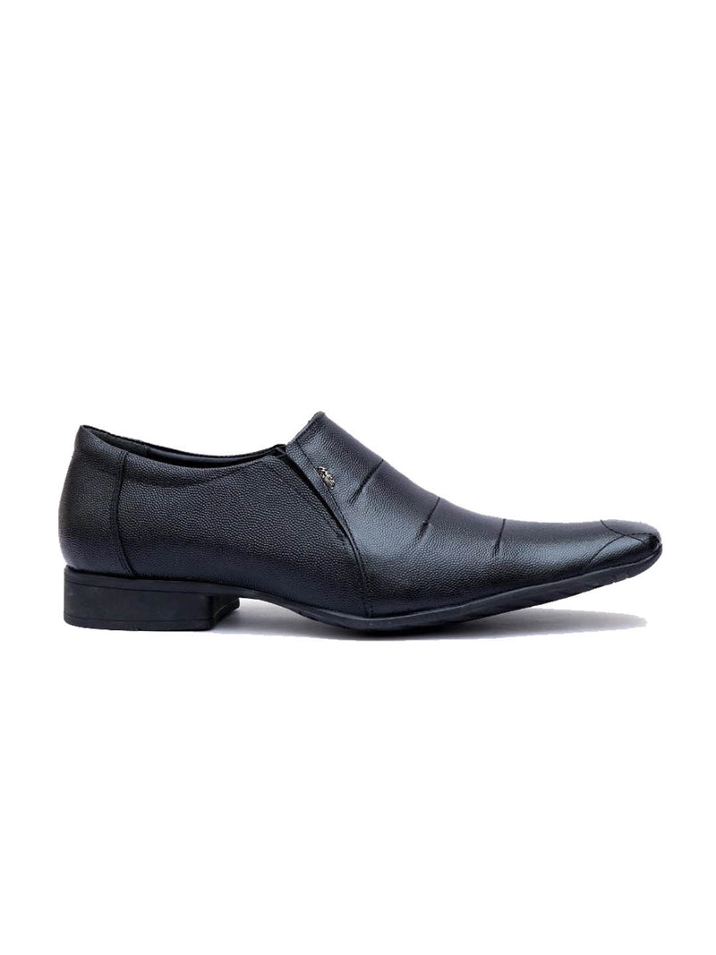 Grant - 1555 Black Leather Shoes