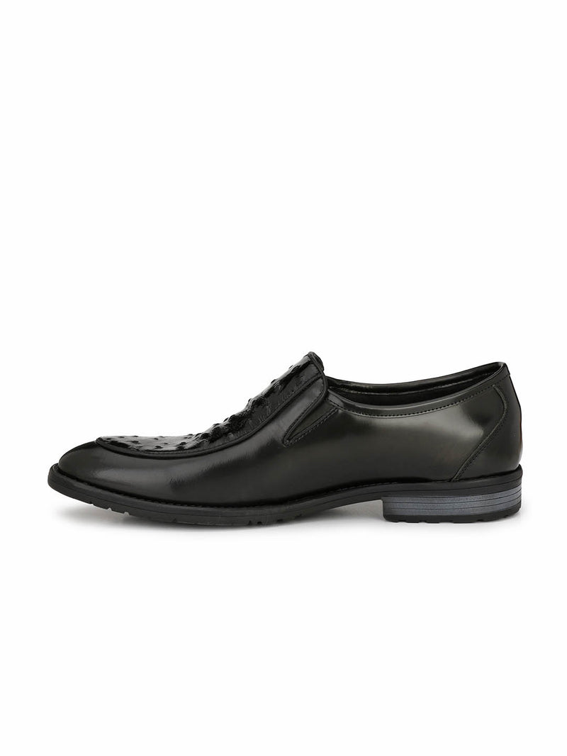 Tango - 1658 Black Leather Shoes