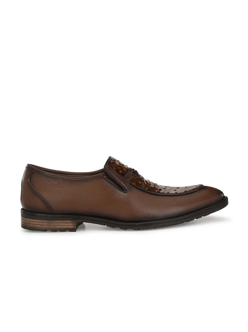Tango -1659 Brown Leather Shoes