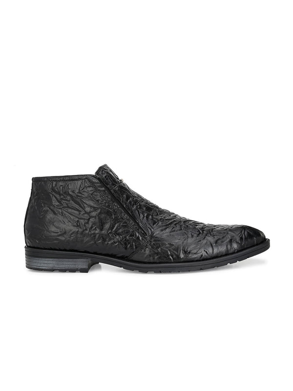 Hitz Kaso Black Boot For Men