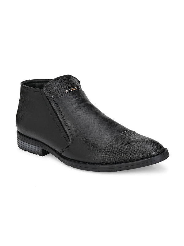 Hitz Nomy Black Boot For Men