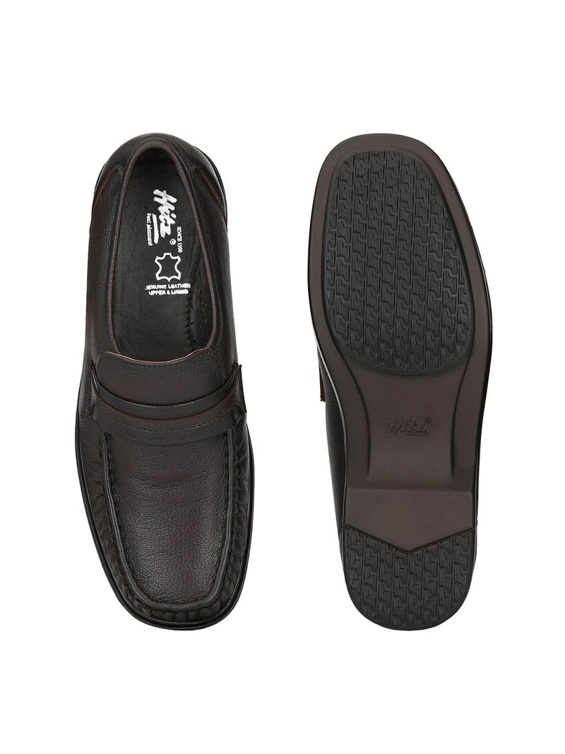 Men Totone Leather Slip-On Comfort Shoes