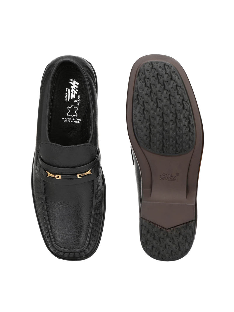Relief - 1714 Black Leather Shoes