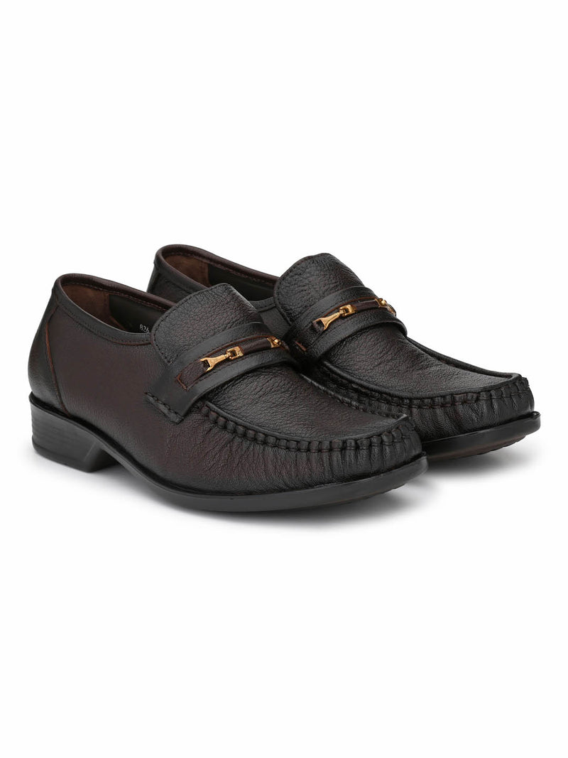Men Totone Solid Leather Comfort Shoes