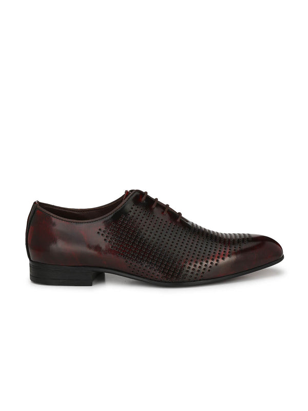Greejman - 1807 Red Leather Shoes