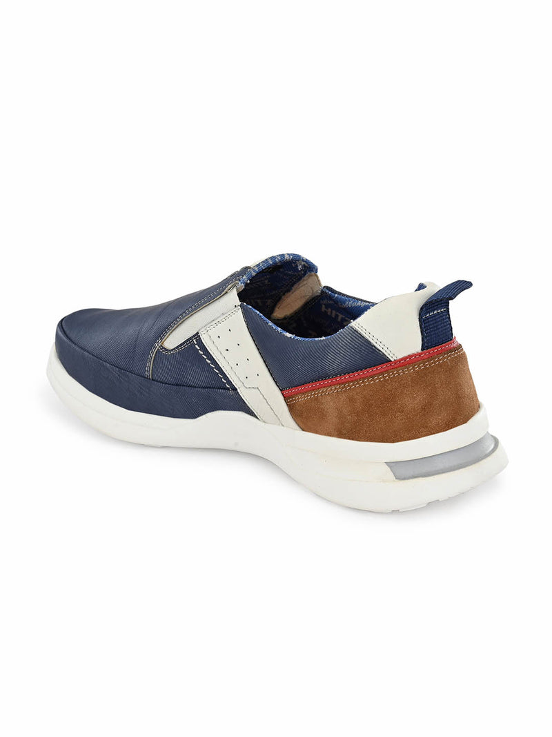 Men Recycled Blue Denim Sport Shoes