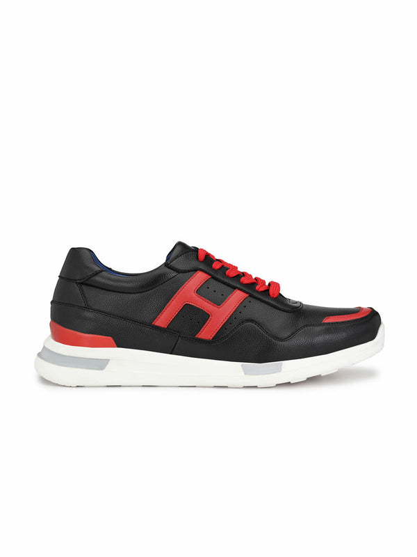 Tag - 207 Black + Red Running Shoes