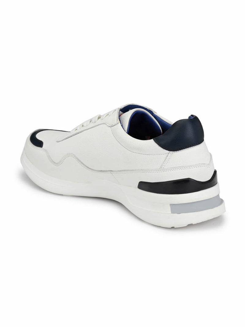 Tag - 207 White + Blue Running Shoes