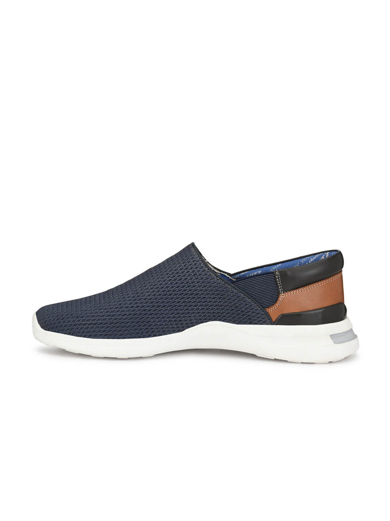 Tag - 208 Blue + Tan Running Shoes