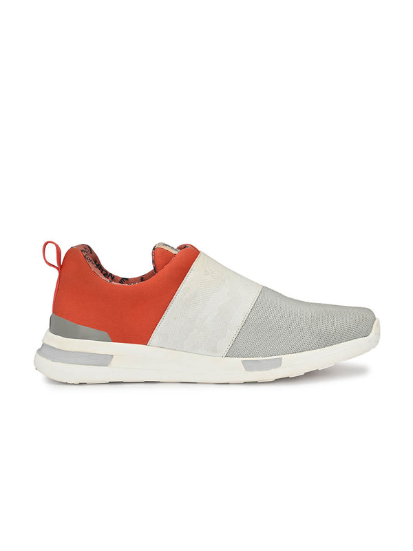 Tag - 209 White + Orange Running Shoes