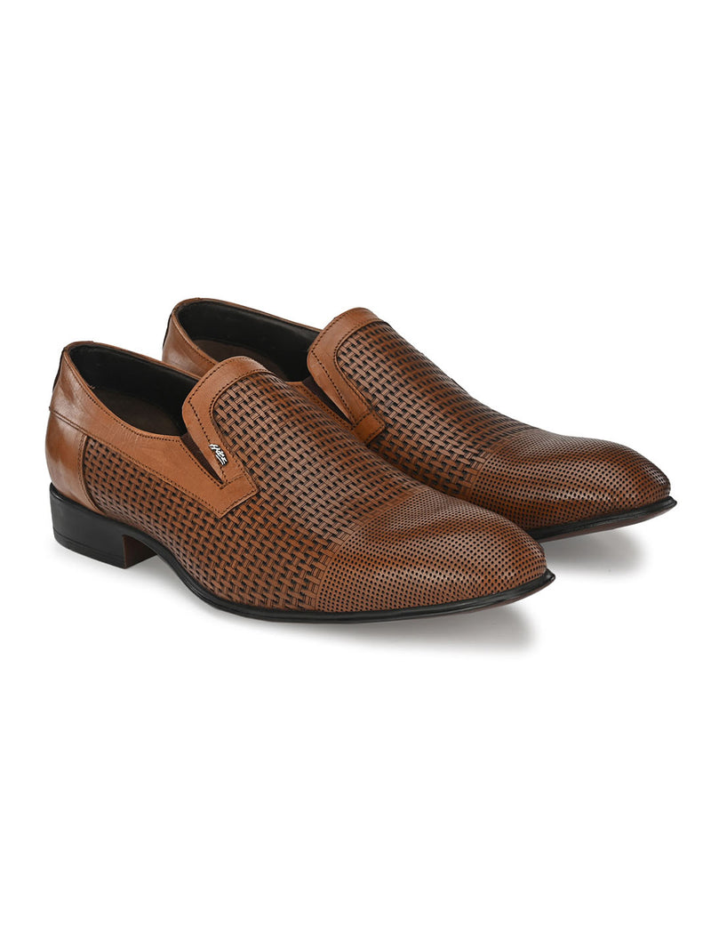 Hitz Tan LACE UP Formal Shoes