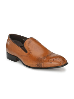 Hitz Tan SLIP ON Formal Shoes