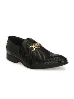 Harrykan - 2108 Black Leather Shoes