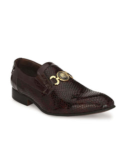 Harrykan - 2108 Cherry Leather Shoes