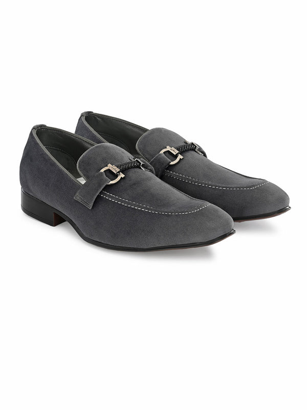 Hitz Grey Slip-on Luxure Shoes