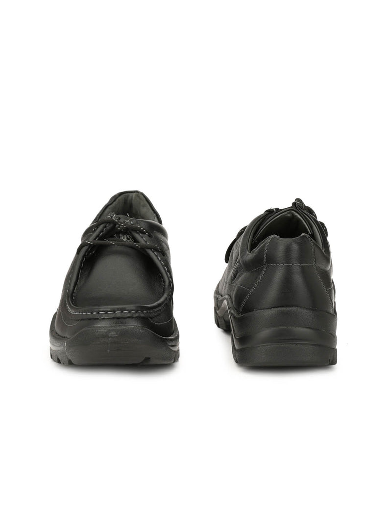 New Darban - 2651 Black Leather Shoes