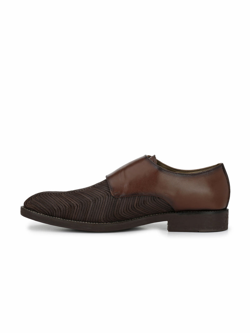 Hitz Brown Double monk Luxure Shoes