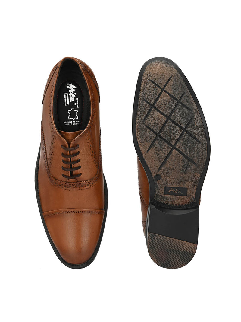 Alberto - 3102 Tan Leather Oxford