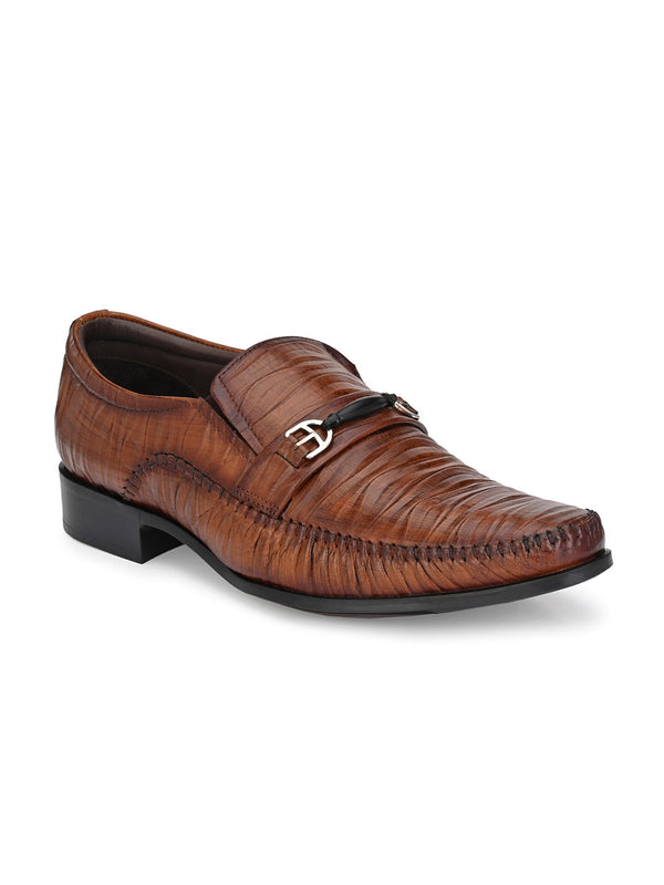 Hitz Roco Tan Formal For Men