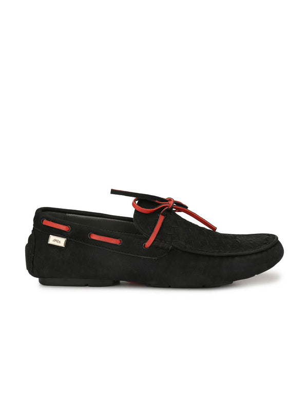 Men Casual Black Loafers