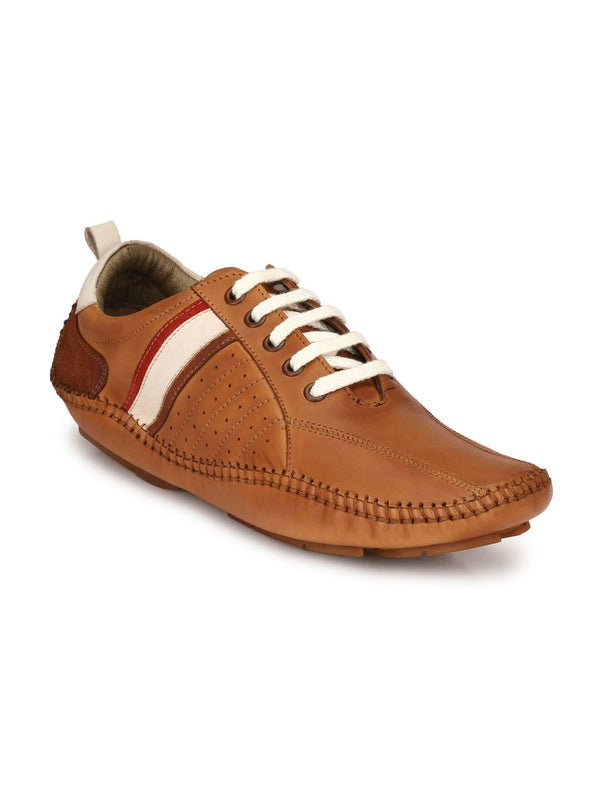 Driving - 365 Tan Leather Loafers