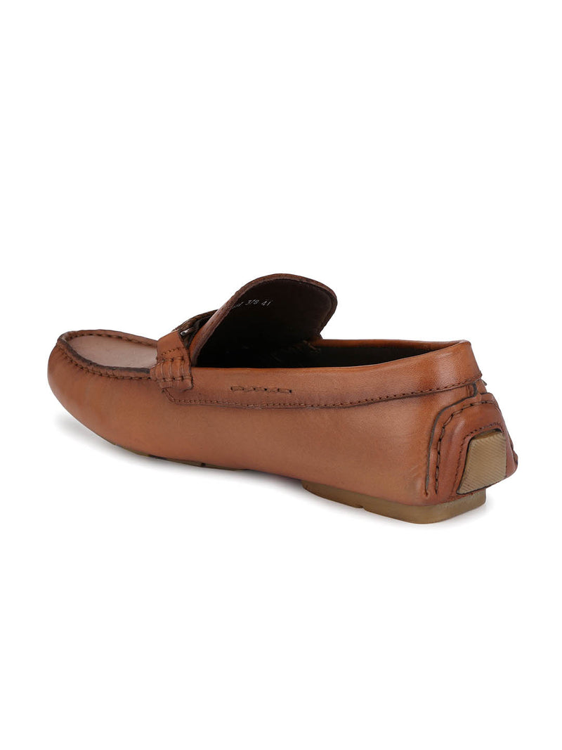 Driving - 378 Tan Leather Loafers