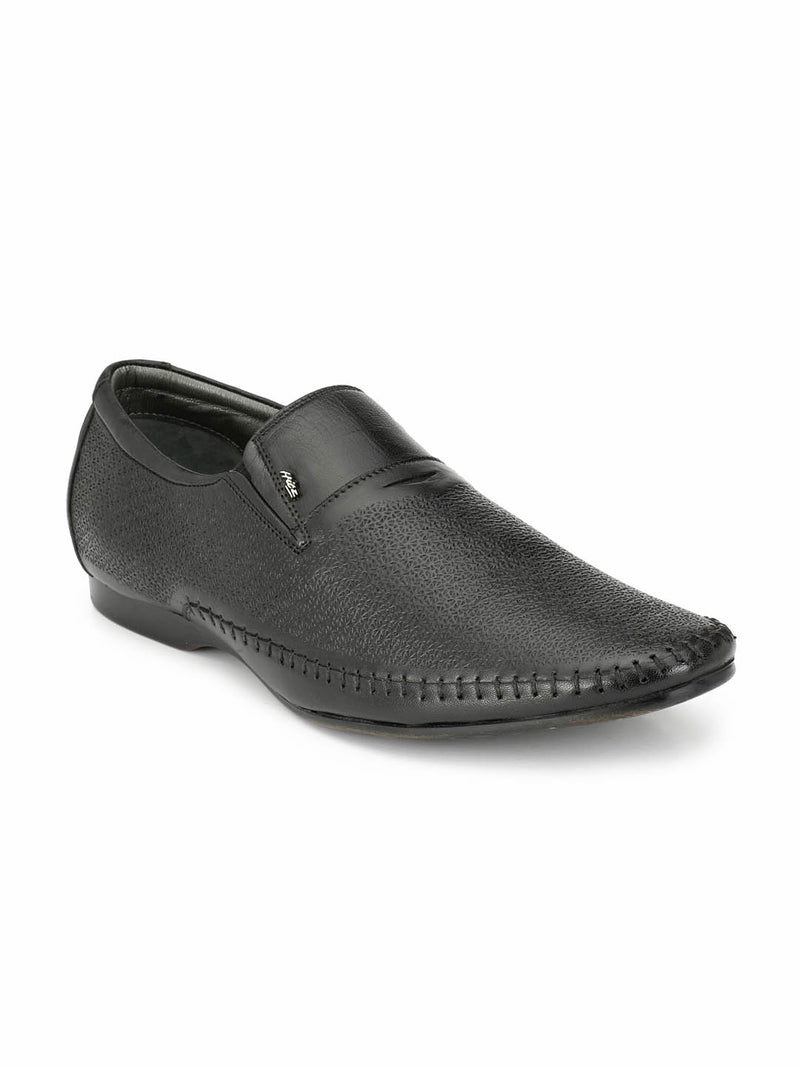 Real - 3915 Black Formal Shoes